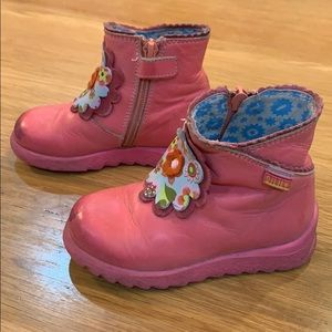 Oilily Simply Dutch ~Darling Ankle Boots Size 8 🎀